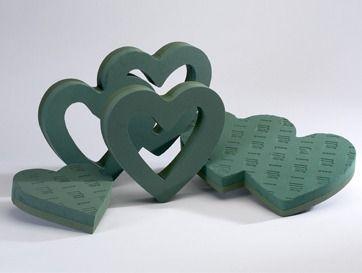 OASIS Foam Hearts