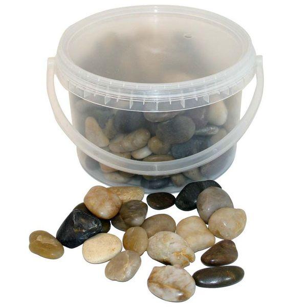 Mixed River Stones