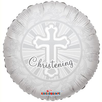 "18"" Christening Cross Balloon"