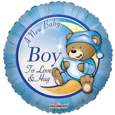 """18"""" A New Baby Boy Balloon"""
