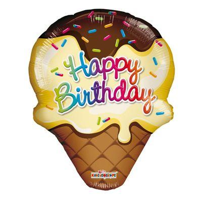 "14""  Ice Cream Cone Balloon"