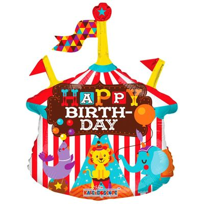 "14"" Circus Birthday Balloon"