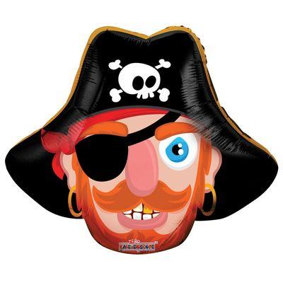 """14""""  Pirate Face Balloon"""