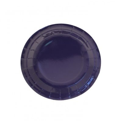 7 Inch Dark Blue Party Plates