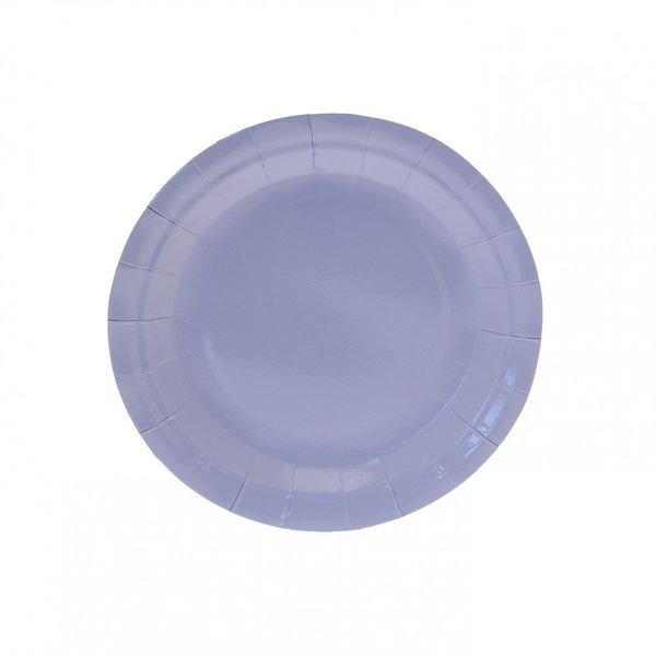 7 Inch Light Blue Party Plates
