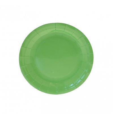 7 inch Lime Green Party Plates