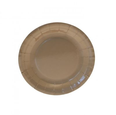 7 Inch Gold Party Plates