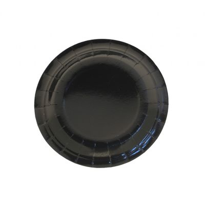 7 Inch Black Party Plates