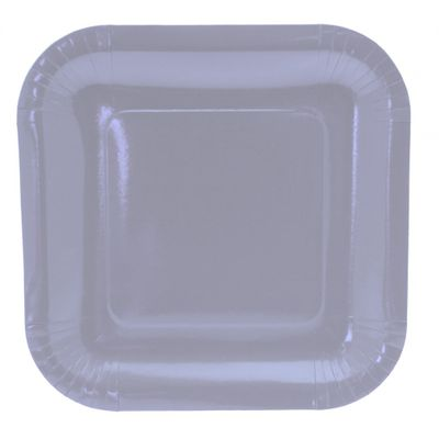 9 Inch Square Light Blue Party Plates