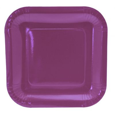 9 Inch Square Party Plates