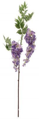 90cm 2 Head Wisteria Violet