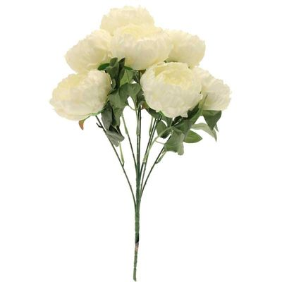 Seven King Peony Bunch Cream
