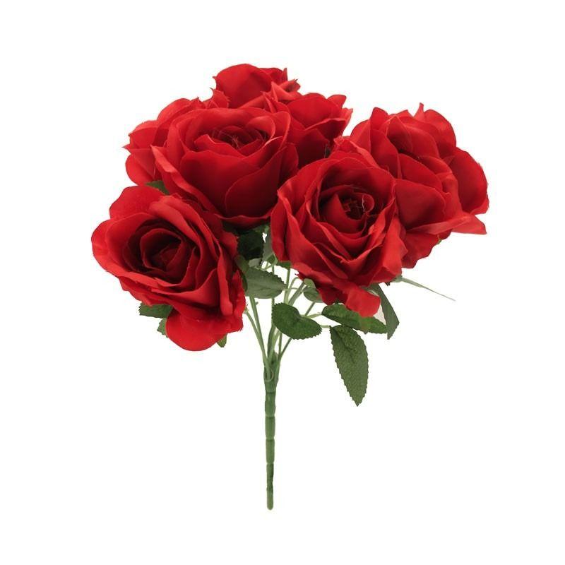 Rose Bush Red