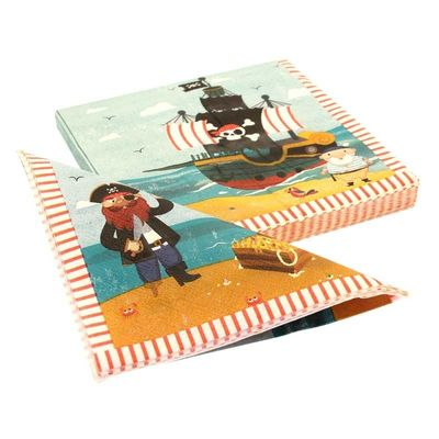 Patch Pirate Party Napkins