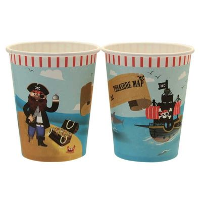 Patch Pirate Party Cups