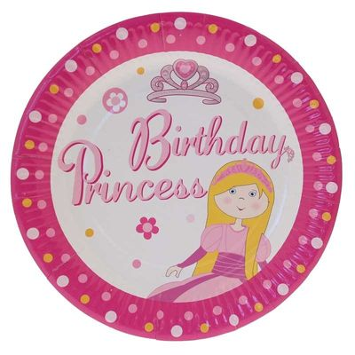 Princess Sparkle Plates