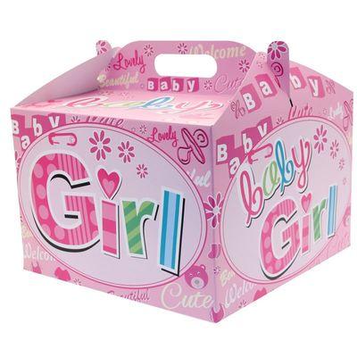 New Baby Girl Balloon Box