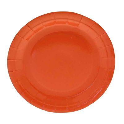 Orange Party Plates