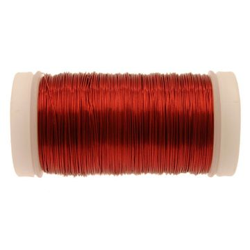 Red Metallic Reel Wire