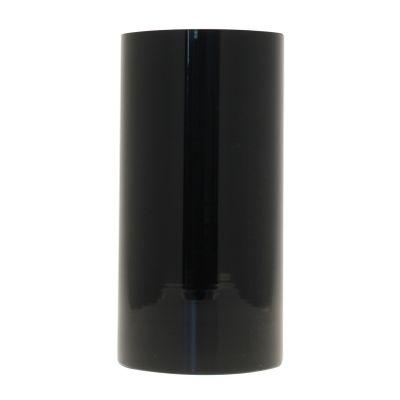 Black Cylinder Vase