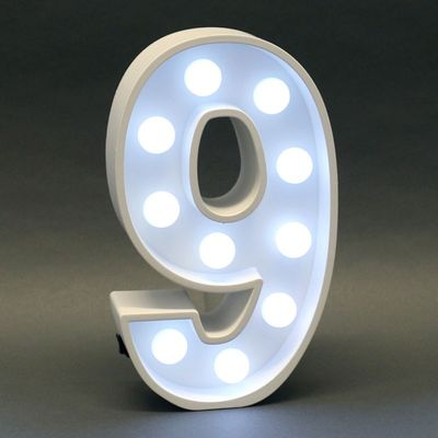Light Up 9 Sign