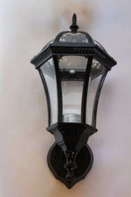 Traditional Style Upright Wall Mounted Garden Lamp