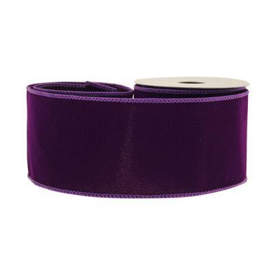 Purple Velvet Ribbon