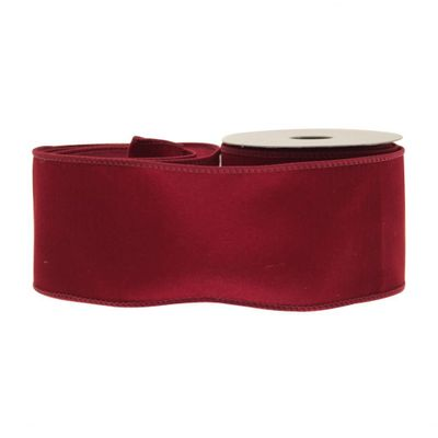 Burgundy Velvet Ribbon
