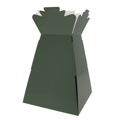 Drak Green Living Vase