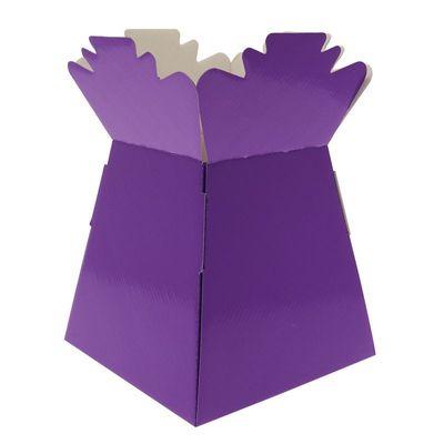 Purple Living Vase
