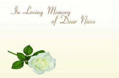 Dear Neice