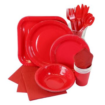 Red Partyware