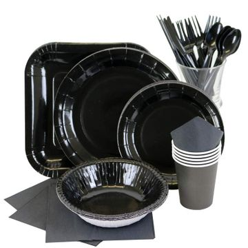 Black Partyware