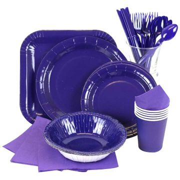 Blue Partyware
