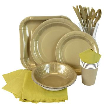 Gold Partyware