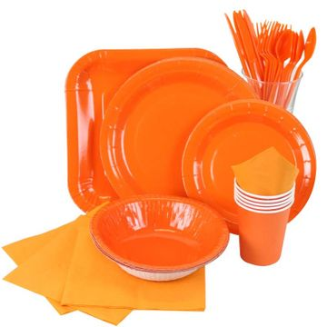 Orange Partyware