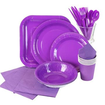 Purple Partyware