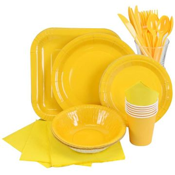 Yellow Partyware
