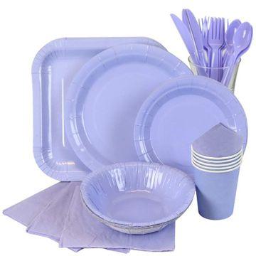 Light Blue Partyware