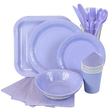 Light Blue Partyware