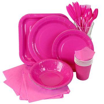 Hot Pink Partyware