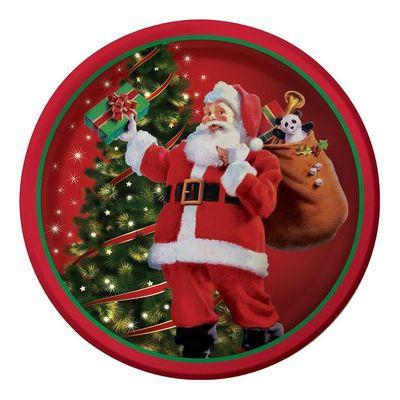 Gifts from Santa Plates