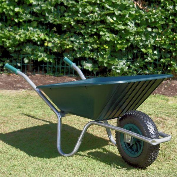 Green Clipper Wheelbarrow