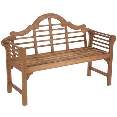 Gablemere Lutyen Bench - Natural