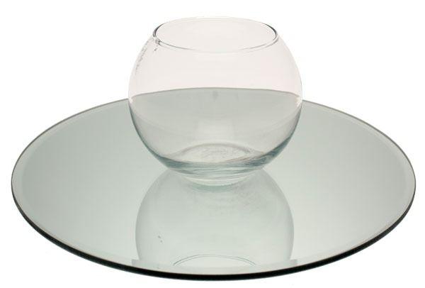 Round Mirror Plate Bubble Ball