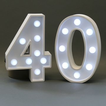 40 Light Up Sign