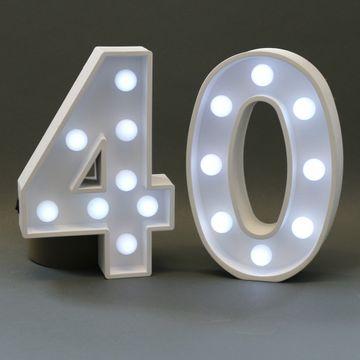 40 Light Up Sign