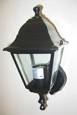 Victorian Style Upright Garden Wall Lantern