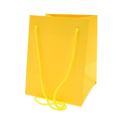 Yellow Hand Tied Bags