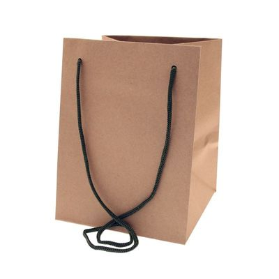 Moss Handle Kraft Bag